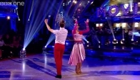 Frankie Bridge and Kevin Clifton Paso Doble to 'America' - Strictly Come Dancing - Bbc One