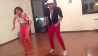 Freestyle salsa on shine