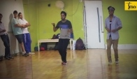 Glimpse of the salsa sessions