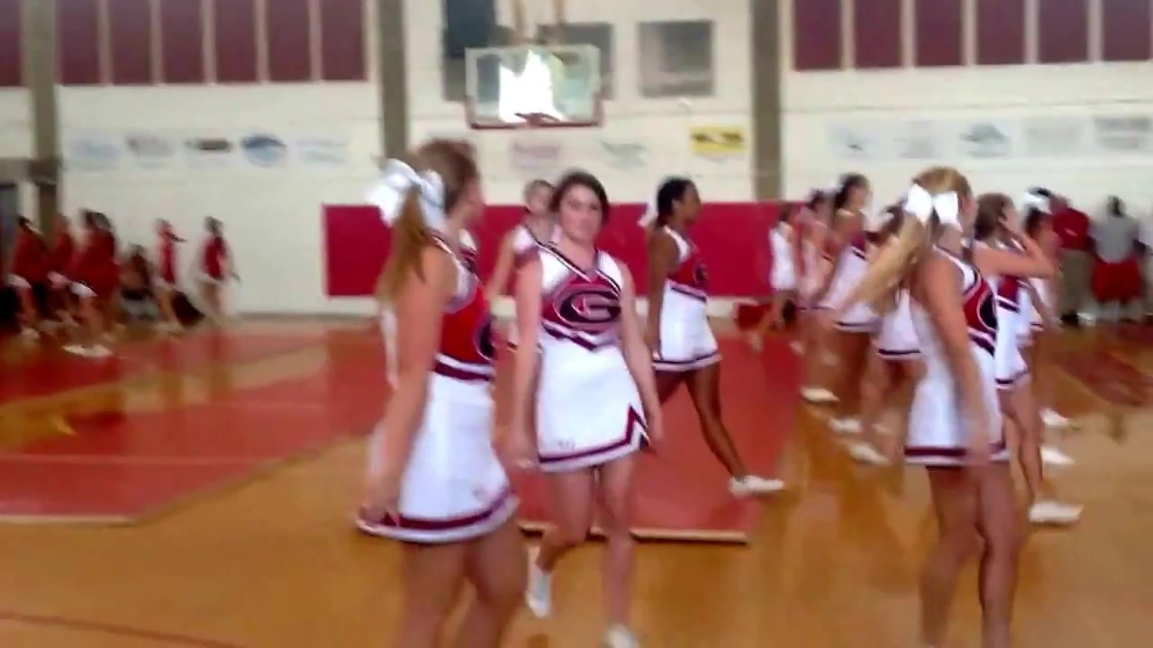 Glynn Academy High School pep Rally Cheerleading Dance