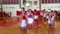 Glynn Academy High School pep Rally Cheerleading Dance
