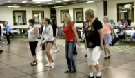 Group clogging dance