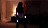Hand Glowsticking Dancing
