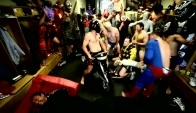 Harlem Shake the locker room