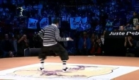 Hip Hop locking battle Salah is Funky like a train