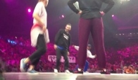 House dance battle at Juste Debout world championships