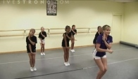 How to Combine Cheerleading Dance Moves