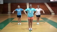 Hudson Middle School cheerleading dance