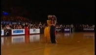 Idsf World Latin Championships Paso Doble solo Stefano Di Filippo and Anna Melnikova
