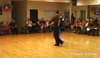 Internationa Rumba Performance at Ultimate Ballroom Dance Studio in Memphis