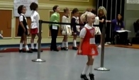 Irish dancer at a Feis September
