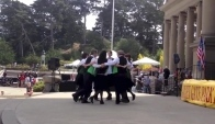 Irish set dance demo at Robert Emmet Day