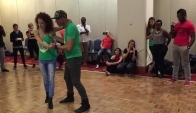 Ivo and Shani Kizomba Tarraxinha Demo at Boston Brazilian Dance Festival