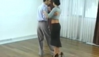 Javier Rodriguez and Geraldine Rojas - Tango Salon Lesson