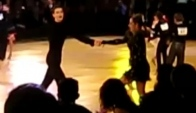 Jive dance Junior competition at the SnowBall Classic