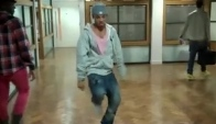 Jls Aston Merrygold doing the Dougie dance