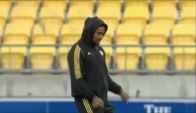 Julian Savea doing the dougie dance
