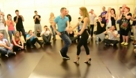 Korke and Judith Bachata Partnerwork Bachata Day