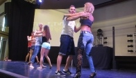 Korke and Judith Workshop Bachata Sensual