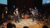 Les Twins Larry Vs Salah and Mathias