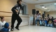 Les twins workout