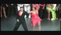 Mayan Professional World Salsa Competition Finals Esteban Conde and Julie Goldman