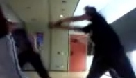 Me with black shirt doing krumping dance