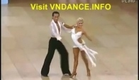 Michael Malitowski and Joanna Leunis Dance Rumba