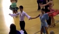 Michigan Ballroom Dance Competition Novice Latin SemiFinal Rumba