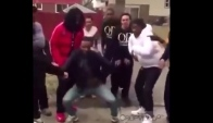 Mmm Freestyle Cypher Rap w whip dance