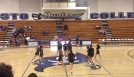 Modesto Junior College Basketball cheer dance