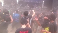 Moshing at Hammersonic