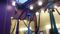 Night Flight Aerial Dance Spring Silks Performance