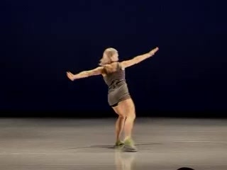 Northern School of Contemporary Dance Karolina Wyrwal Year Solo