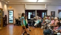 Nursing home Irish dance performance
