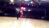 Oleg Astakhov and student Nancy Lee - Rumba - Ballroom Dancing La dance studio Sep