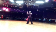 Oleg Astakhov and student Shirley Lee - Rumba - Ballroom Dancing La dance studio Sep