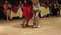 Osvaldo and Coca Campeones de Tango Salon