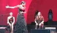 Performing Flamenco dance
