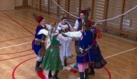 Polish folk dance Krakowiak