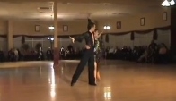 Pro Cha Cha Routine Anna Harwood and Jeremy Gatlin