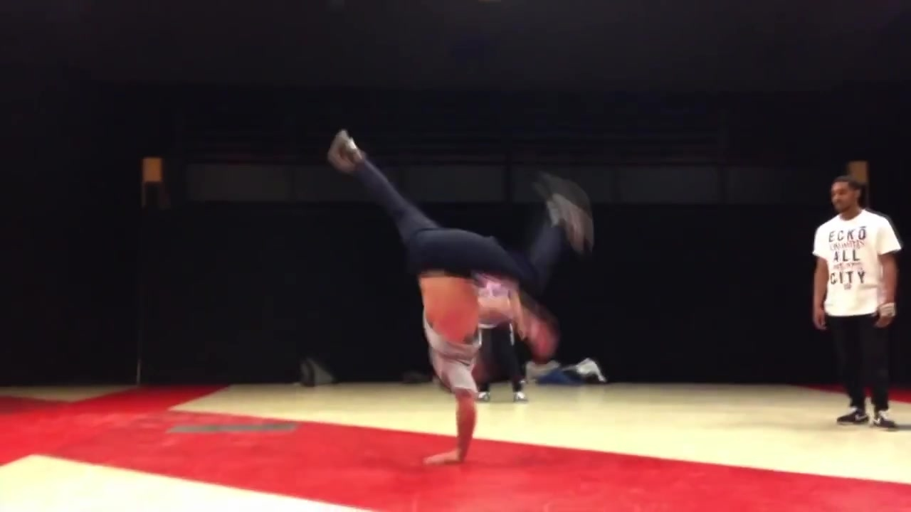 Ready For Power Moves Breakdance