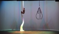 Relev Aerial Dance Silks Performance at Unf Celebration of Women in the Arts