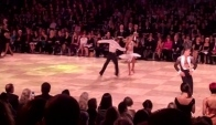 Ricardo and Yulia Samba - ballroom dance