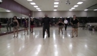 Riding the Waves High Beginner Line Dance demo by Vogue Dance Club