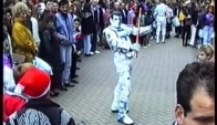 Robot Dance in street