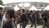 Rock The World Malaysia - Moshing Flying Kicks Libass