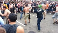 Rock on the range red mosh pit