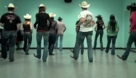Solitary Man country line dance - Wild Country