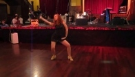 Solo Performance by Nicole Trissell Rose City Blues Dance